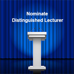Distinguished Lecturer Nomination Image