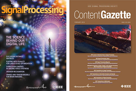 IEEE SPS Magazine and Content Gazette Image