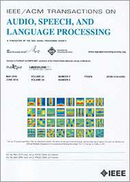 IEEE/ACM Transactions on Audio Speech and Language