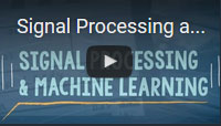 machine learning signal processing